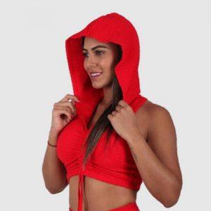 top-capucha-zigfit-rojo